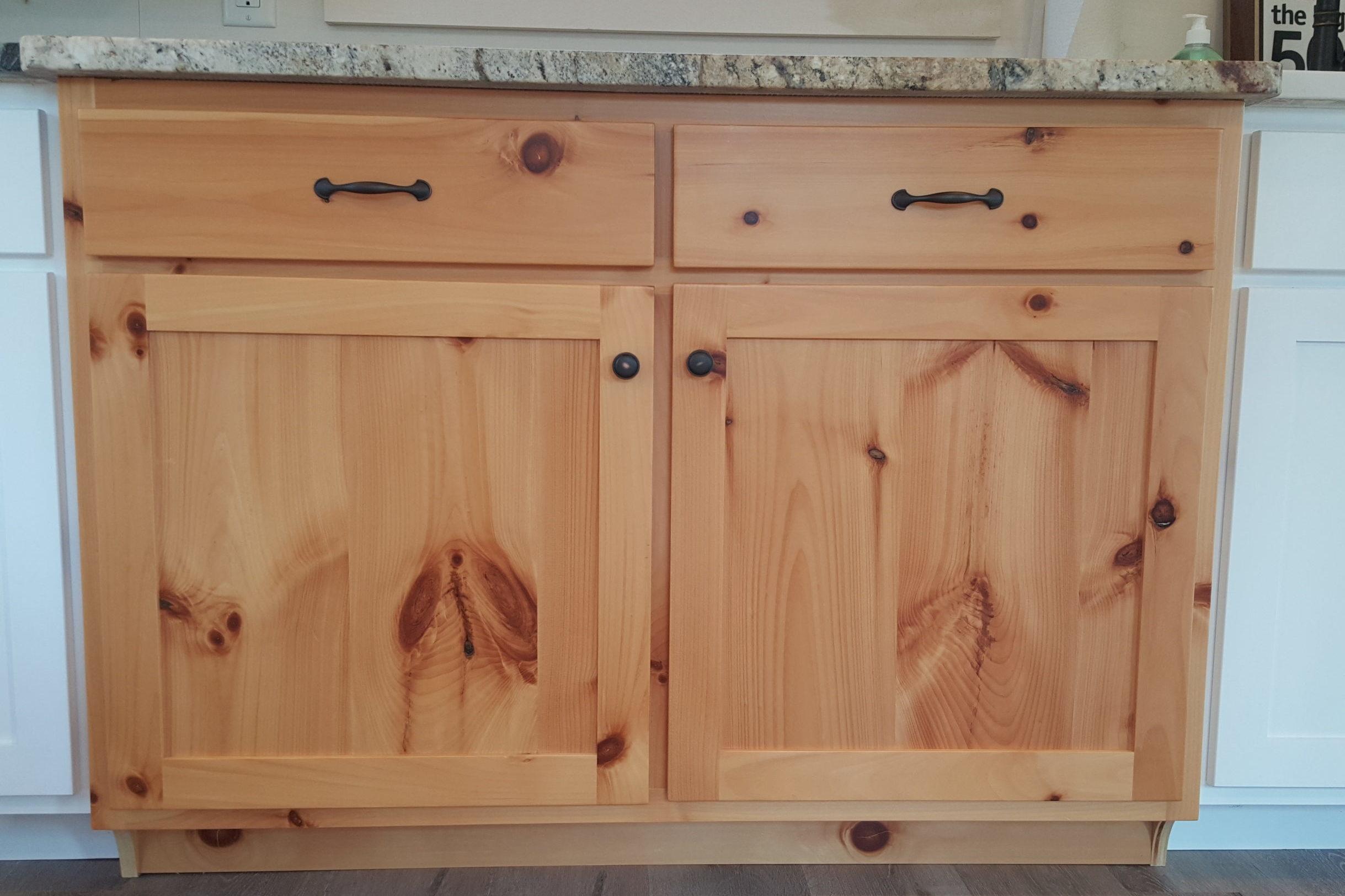 Flat recessed panel (Pine)